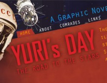 Yuri's Day – book blog ecommerce website design