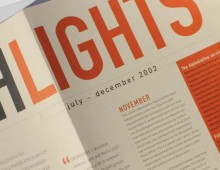Galileo – Highlights newsletter design