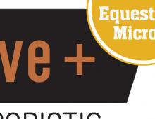 Equine probiotic product branding